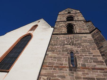 Martin Church, Church, Steeple, Basel