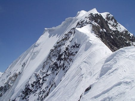 Königsspitze, Cornice, Ridge, Summit, Foam Roller