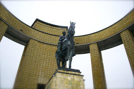 Nieuwpoort, West-flanders, Belgium, Albert 1 Monument