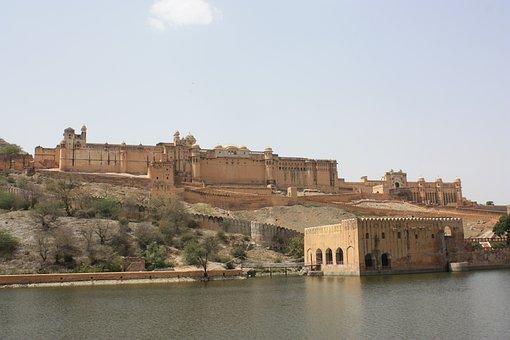 Amber, India, Fort, Jaipur, Rajasthan, Travel