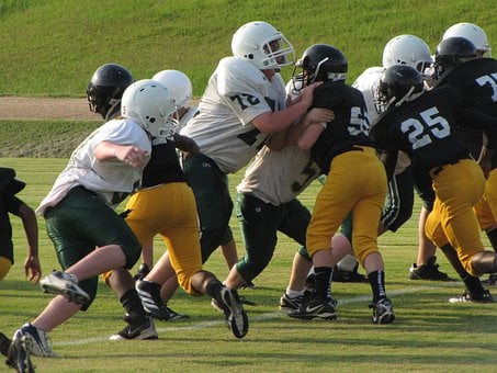 Football Game, Tackle, Sport, American, Team