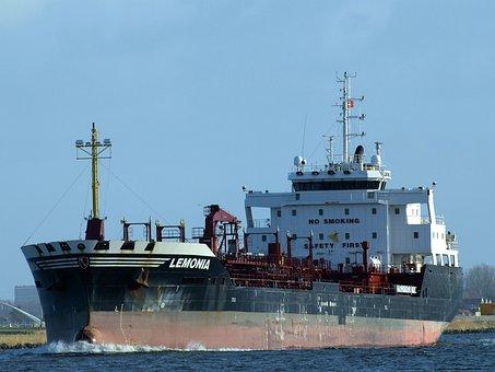 Lemonia, Frachtschiff, Freighter, Amsterdam, Ozeanriese