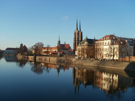 City, Wrocław, Panorama Of The City, Architecture