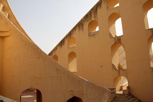Rajasthan, Jaipur, Astrology Garden, Architecture