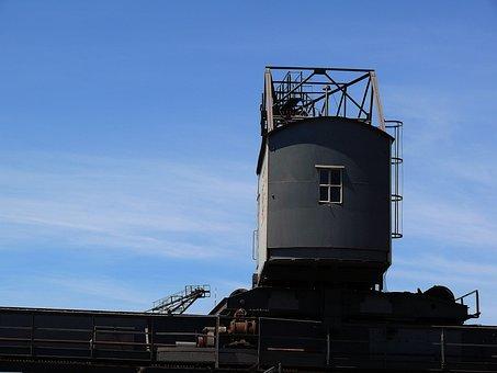 Construction, Baukran, Site, Port, Lifting Device, Sky