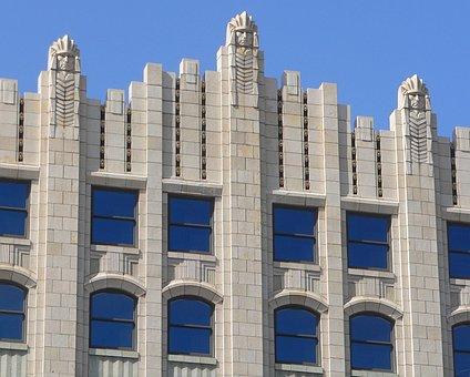 Sioux City, Iowa, Building, Structure, Brick, Windows