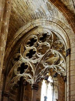 Gothic, Tracery, Ogee, Carved Stone, Cathedral Tortosa