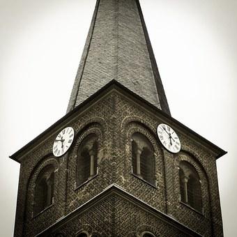 Clock, Steeple, Church Clock, Church, Clock Tower