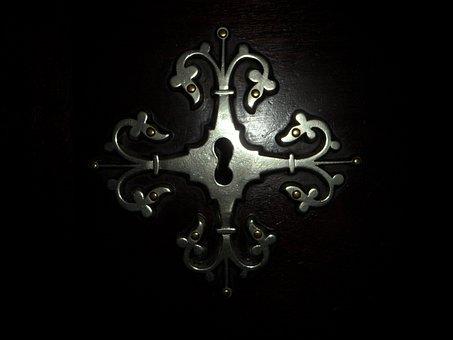 Fitting, Key Hole, Old, Door, Door Lock, Castle