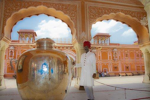 India, Jaipur, Travel, Asia, East, Palace
