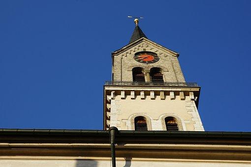 Church, Tuttlingen, Faith, Religion, Evangelish, Tower