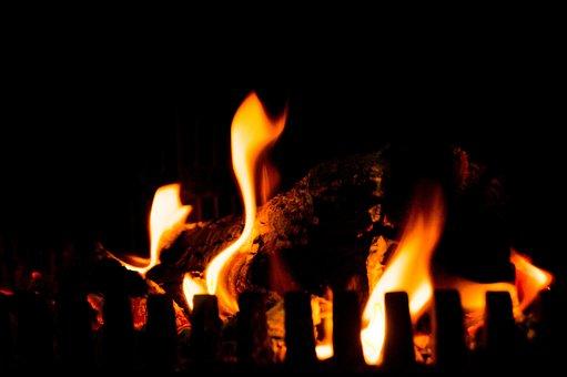Camp Fire, Fireplace, Fire, Flames, Heat, Hot, Warm
