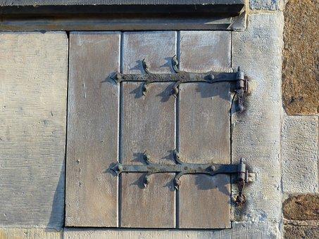 Small Door, Old Door, Fittings, Wood, Old, Fitting