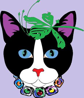 Cat, For Him, Animals, Black Fur, Jewelery