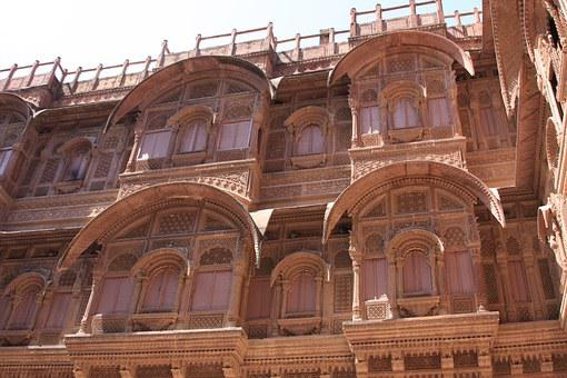 Windows, Fort, Travel, Indian, Historic, Jaipur