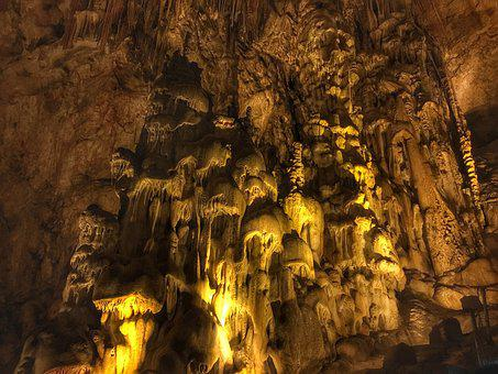Zhijin County, Cave, Ghost, Stalactites, Stalagmite