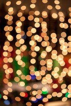 Bokeh, Gold, Glitter, Backdrop, Glowing, Sparkle