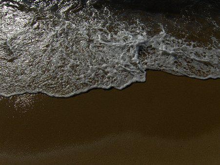 Beira Mar, Litoral, Hater, Sand, Beach, Foam
