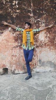Aamer Fort, Jaipur, Raja, Amber, India, Rajasthan