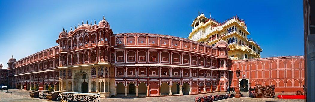 King Palace, Jaipur, India, Travel, Asia, Maharaja