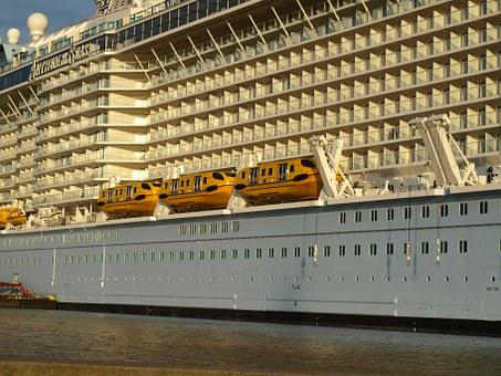 Anthem Of The Seas, Cruise Ship, Lifeboats