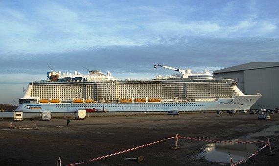 Anthem Of The Seas, Papenburg Germany, Meyer Shipyard