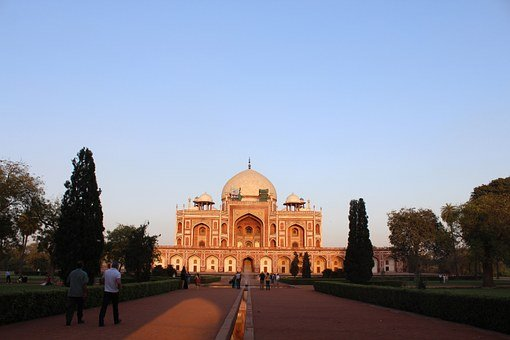 Humayun, Tomb, Monument, Architecture, Stone, Delhi