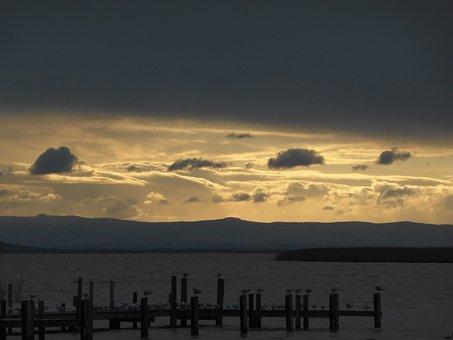 Clouds, Landscape, Sky, Nature, Dark Clouds, Morning