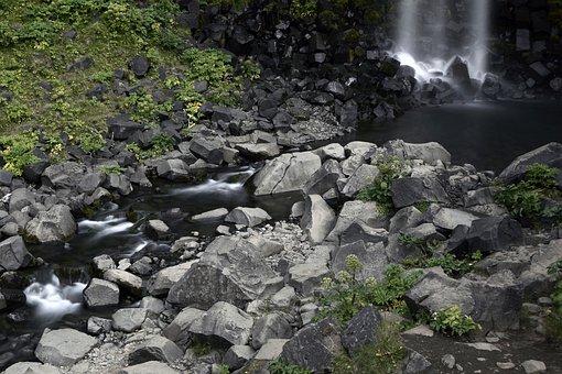 Svartifoss, Waterfall, Landscape, Iceland, Nature