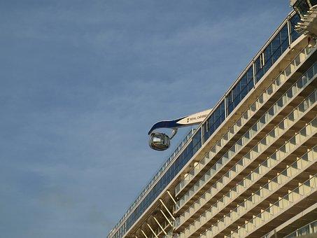 Observation Gondola, Anthem Of The Seas, Cruise Ship