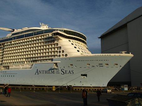 Ozeanriese, Anthem Of The Seas, Meyer Shipyard