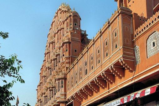 India, Rajastan, Jaipur, Palace Of Winds