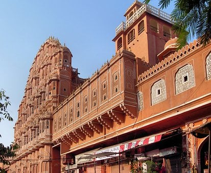 India, Jaipur, Rajastan, Palace Of Winds, Palace