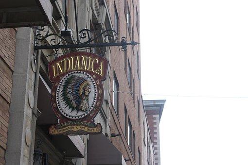 Indian, Tourism, Souvenir, Montreal, Quebec, Canada