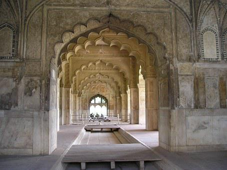 Red Fort Delhi, Buildings, Ancient, Architecture