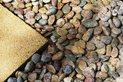 Stones, Pebble, Wet, The Tiles, Passage, The Wall