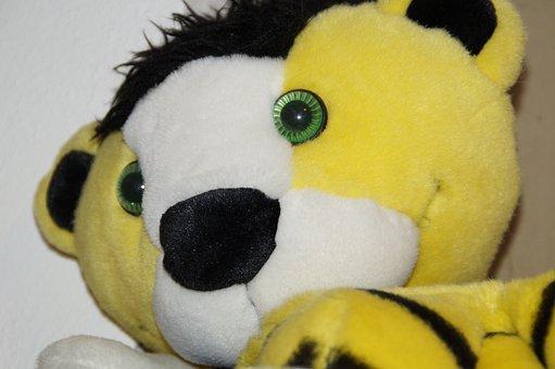 Janosch, Tiger, Teddy Bear, Soft Toy, Toys, Soft