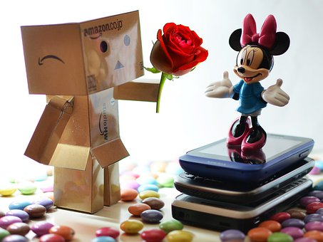 Danbo, Love, Valentine, Toy, Candy, Japan, Mini Mouse