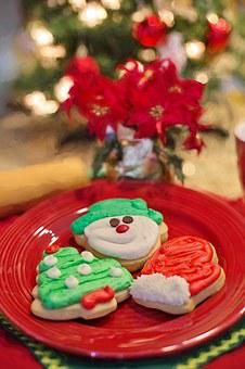 Christmas Cookies, Cut-outs, Baking, Cookies, Holiday