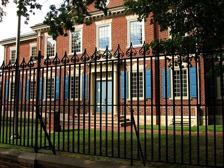 Fence, Barrier, Brick, Tile, Clay Brick, House