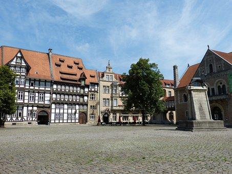 Braunschweig, Historically, Old Town, Building, Truss