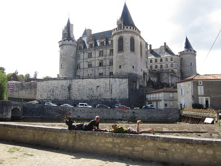 Castle, French, Medieval, Landmark, Chateau, Exterior