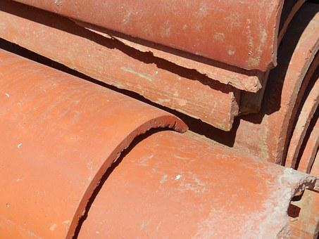 Tiles, Ceramic, Roof, Architecture, Curved, Clay