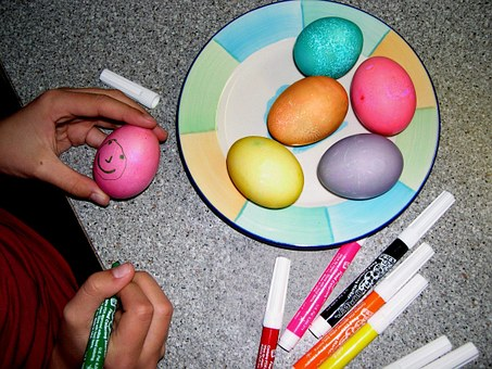 Eggs, Easter, Easter Eggs, Decorated, Colored, Painted