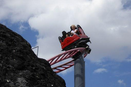Roller Coaster, Attraction, Fun, Emotion, Risk, Family