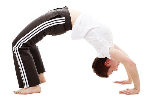 Back, Bend, Bridge, Exercise, Female, Fitness, Flexible