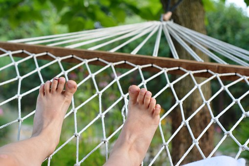 Hammock, Rest, Summer, Floating In The Air, Holiday