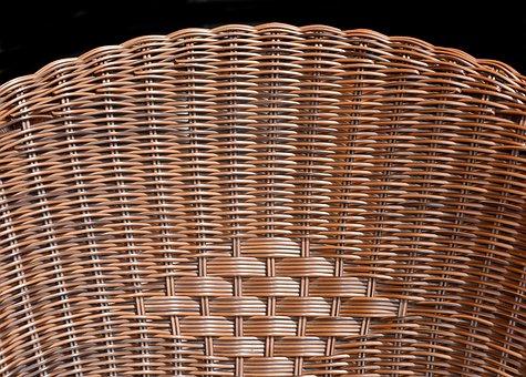 Armchair, Folder, Canework, Braiding, Pattern