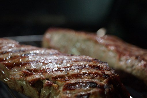 Steak, Barbecue, Beef, Meat, Grill, Grilled, Tasty