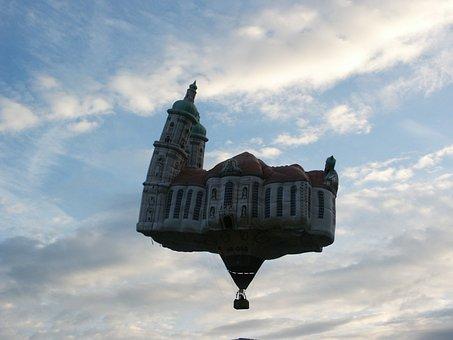 Balloon, Hot Air Balloon, Hot Air Balloon Ride, Sky